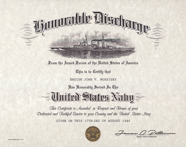 Air Force Honorable Discharge Certificate Best Design Sertificate 2018